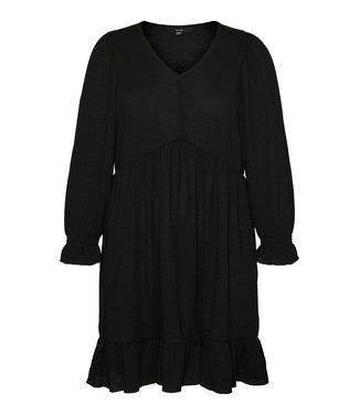 VERO MODA CURVE VMELYISA LS SHORT DRESS - S CURVE