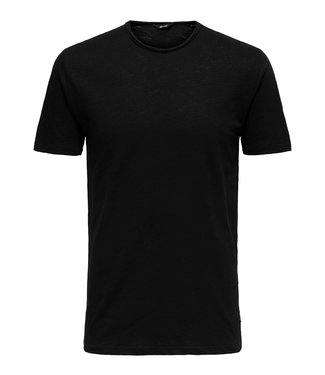 Only & Sons Only & Sons Onsalbert New SS Tee Noos Black