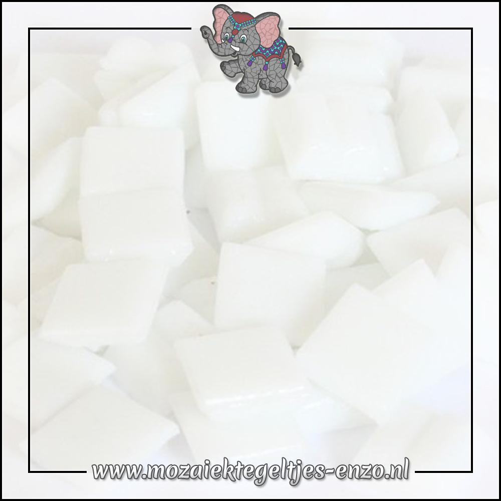 Basic Line   1cm   Enkele Kleuren   60 stuks   Mini Matte White A01