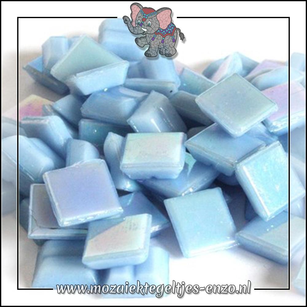 Parelmoer   1cm   Enkele Kleuren   60 stuks   Mini Blue Opal