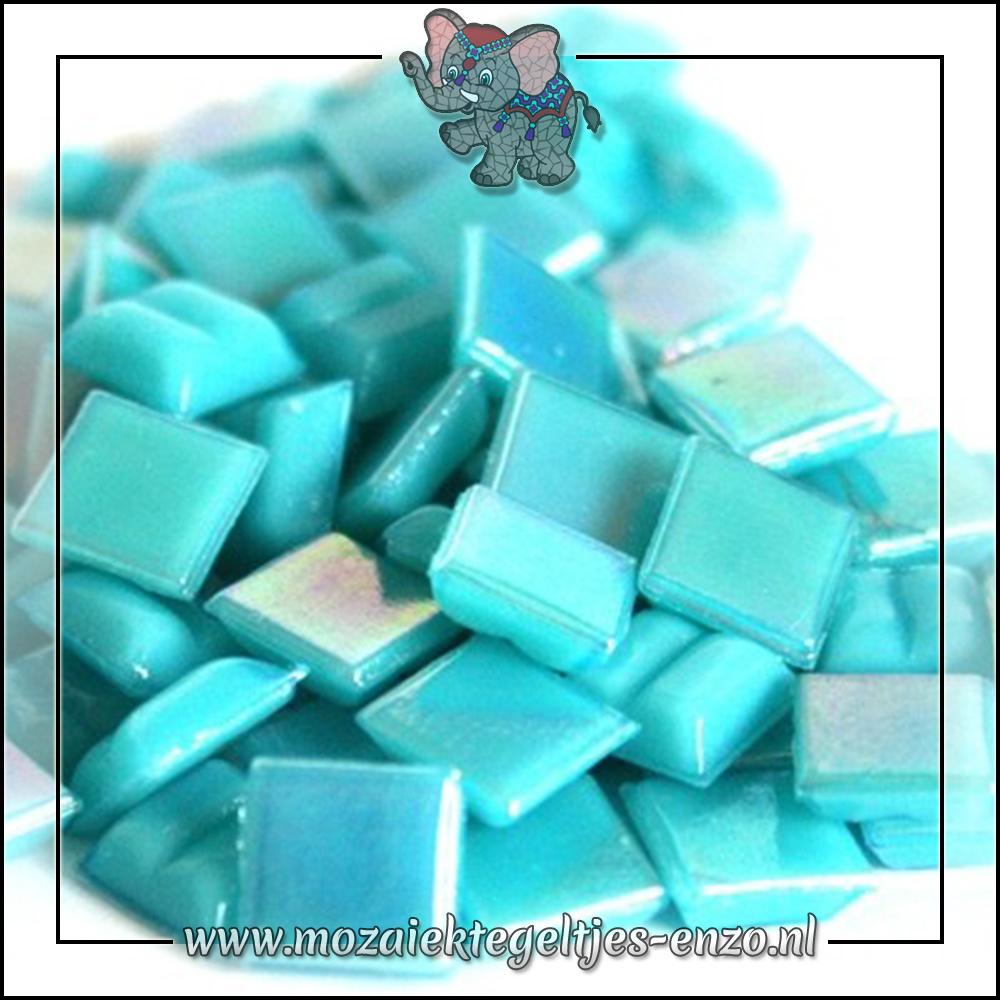 Parelmoer   1cm   Enkele Kleuren   60 stuks   Mini Turquoise