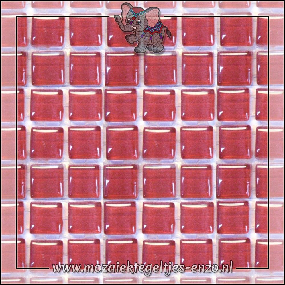 Murrini Crystal   1cm   Enkele Kleuren   60 stuks   Mini Bright Pink