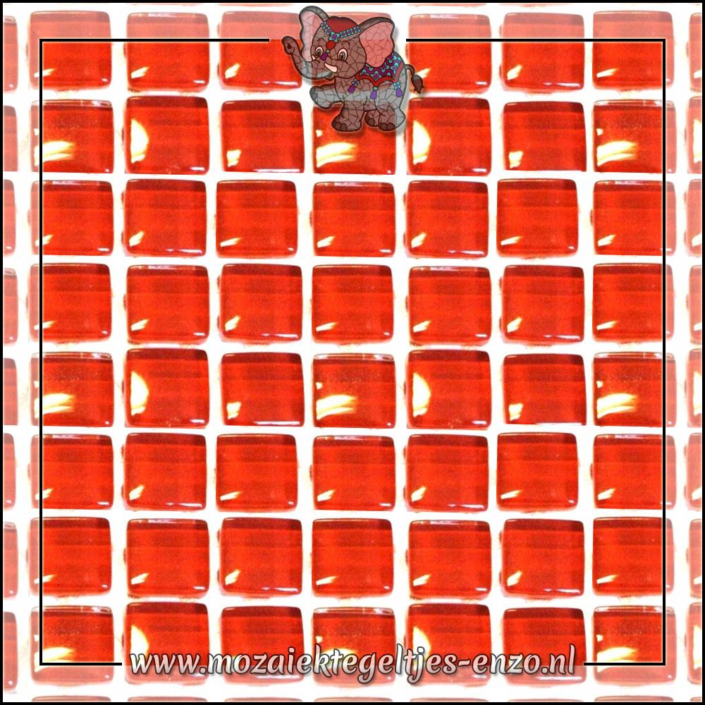 Murrini Crystal | 1cm | Enkele Kleuren | 60 stuks | Mini Brilliant Red