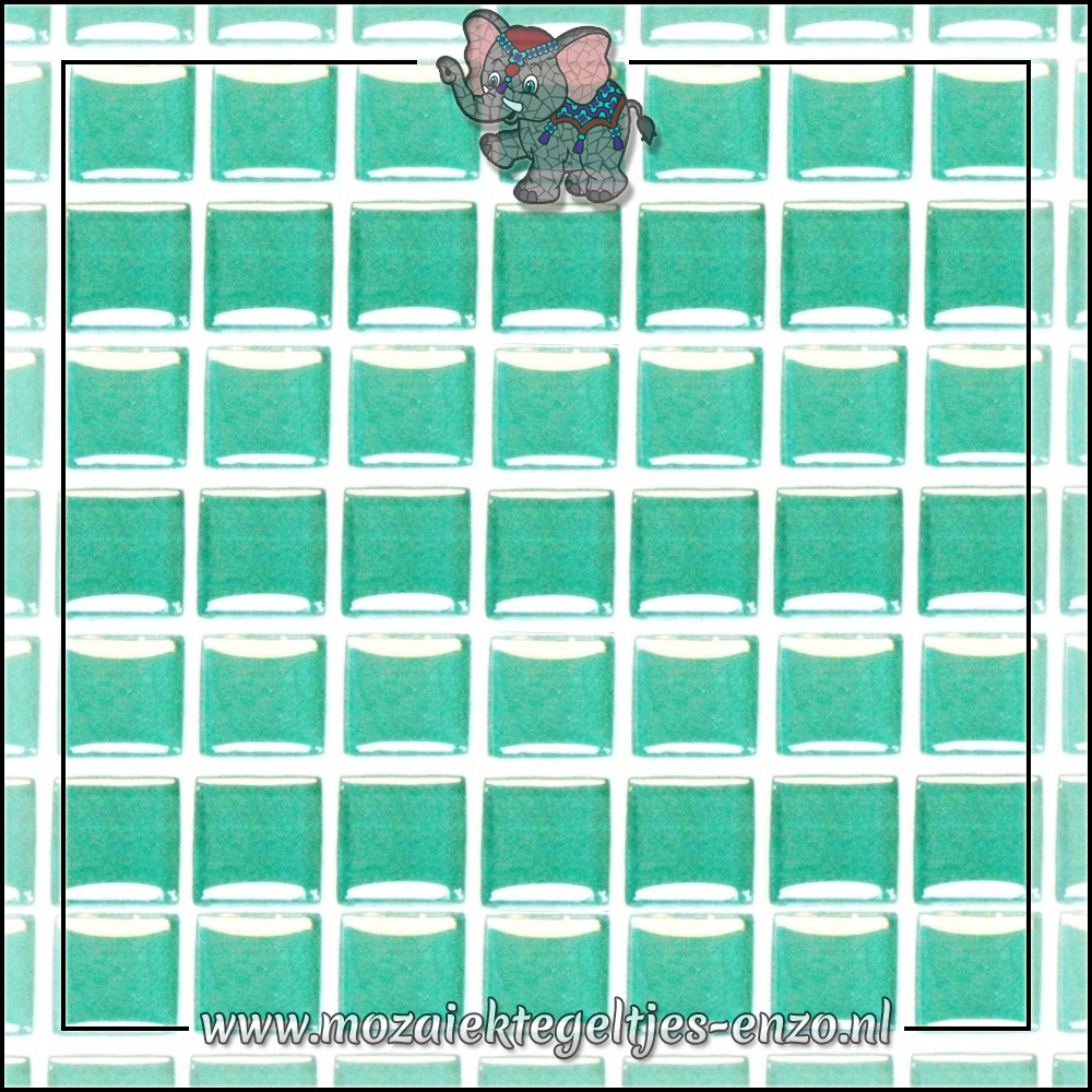 Murrini Crystal | 1cm | Enkele Kleuren | 60 stuks | Mini Bright Aqua