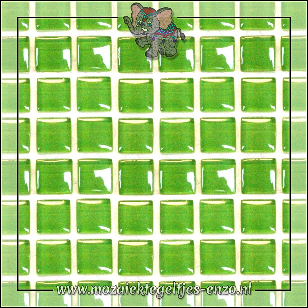 Murrini Crystal | 1cm | Enkele Kleuren | 60 stuks | Mini Key Lime Pie