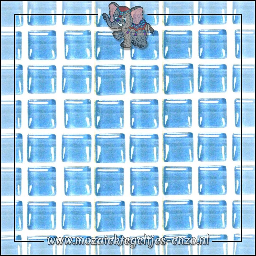 Murrini Crystal   1cm   Enkele Kleuren   60 stuks   Mini Turquoise