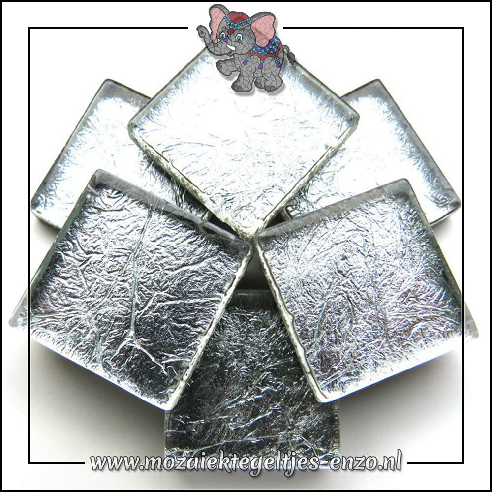Foil | 2cm | Enkele Kleuren | 20 stuks | Silver