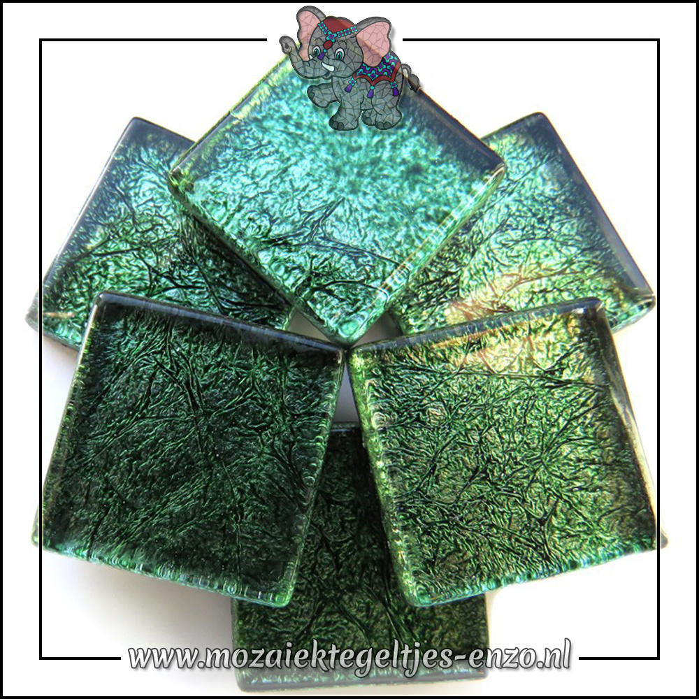 Foil | 2cm | Enkele Kleuren | 20 stuks | Emerald