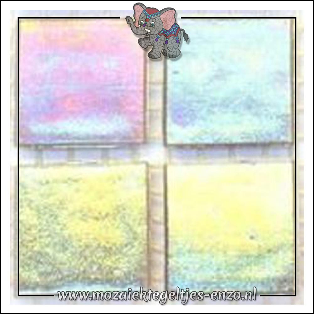 Parelmoer | 2cm | Enkele Kleuren | 20 stuks | Crystal Smoke