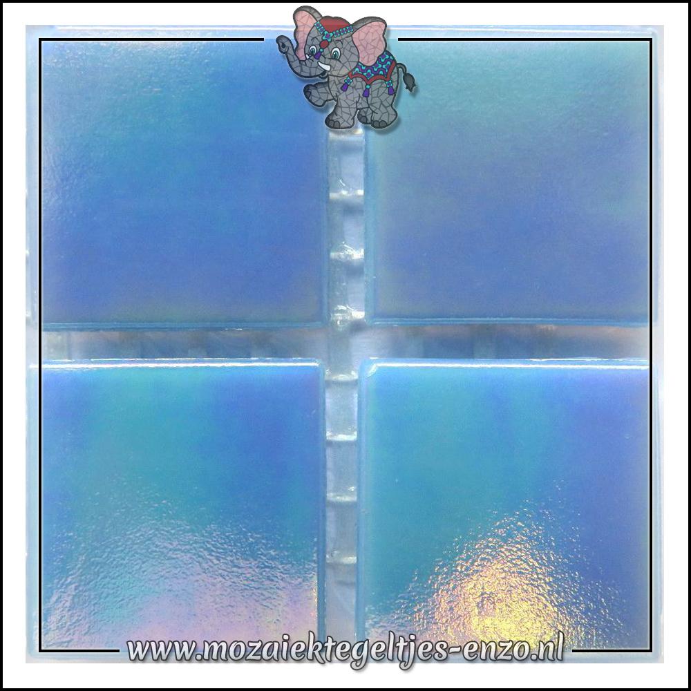 Parelmoer | 2cm | Enkele Kleuren | 20 stuks | Blue Opal