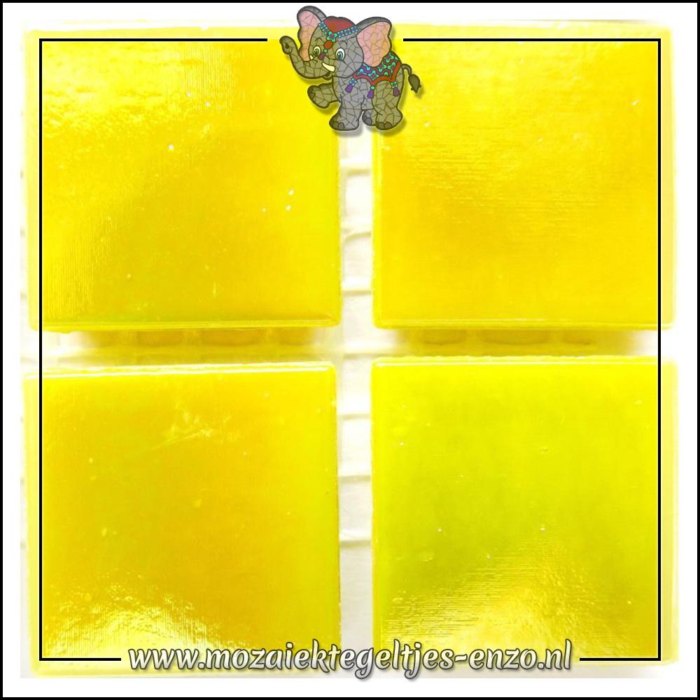 Parelmoer   2cm   Enkele Kleuren   20 stuks   Yellow Citrine