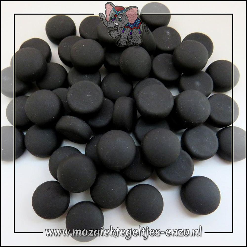 Glasdruppels Mat | 12mm | Enkele Kleuren | 50 gram |Black