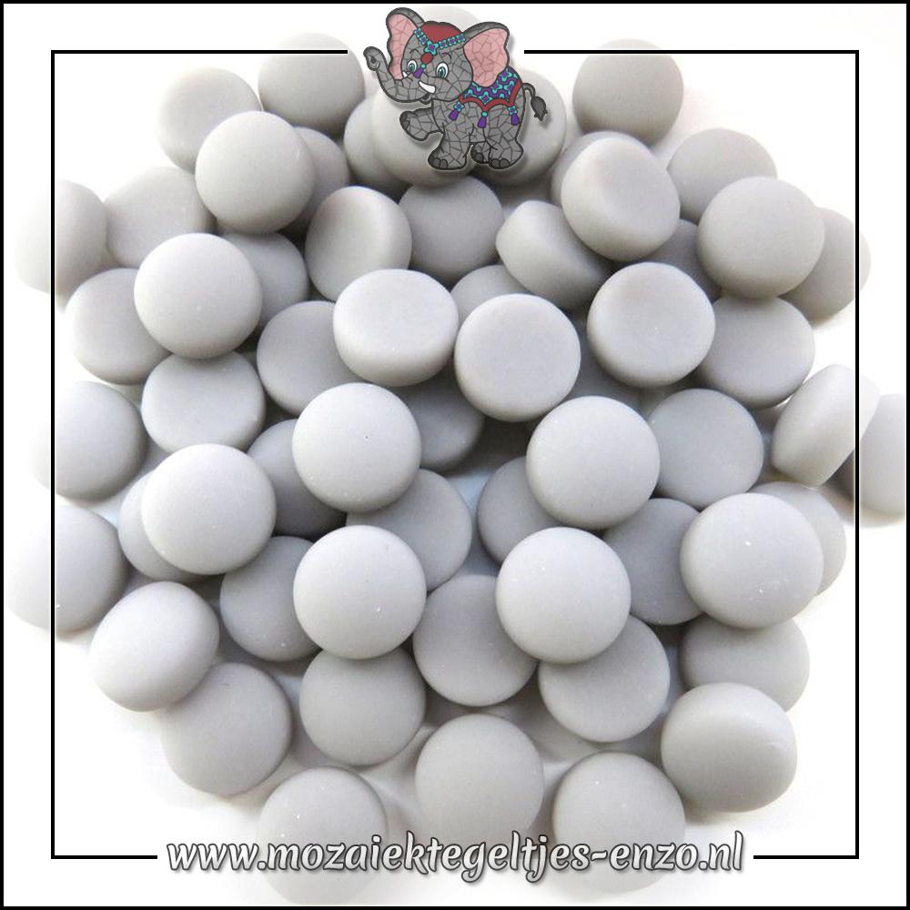 Glasdruppels Mat | 12mm | Enkele Kleuren | 50 gram |Grey