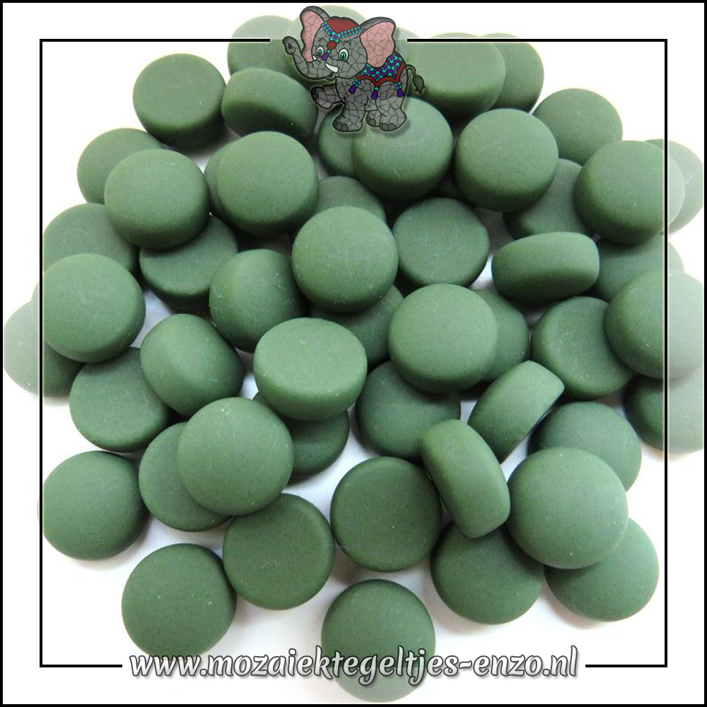 Glasdruppels Mat | 12mm | Enkele Kleuren | 50 gram |Green