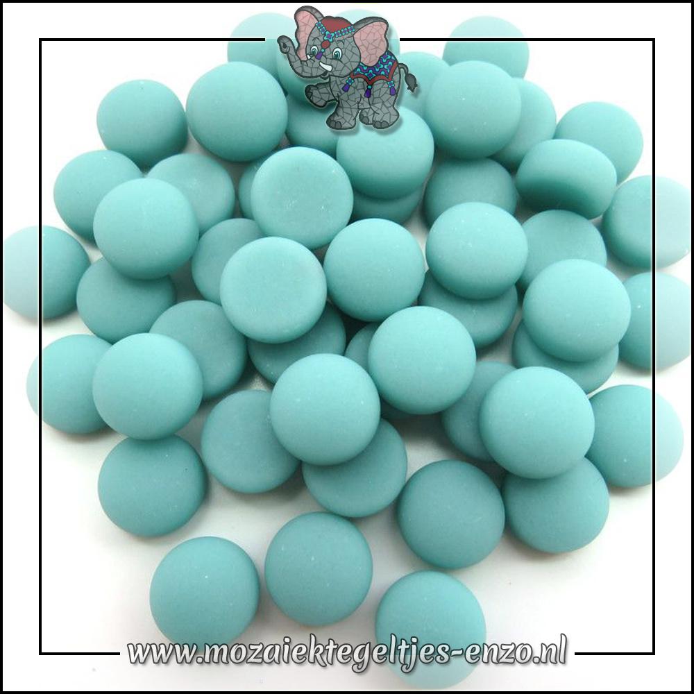 Glasdruppels Mat | 12mm | Enkele Kleuren | 50 gram |Teal