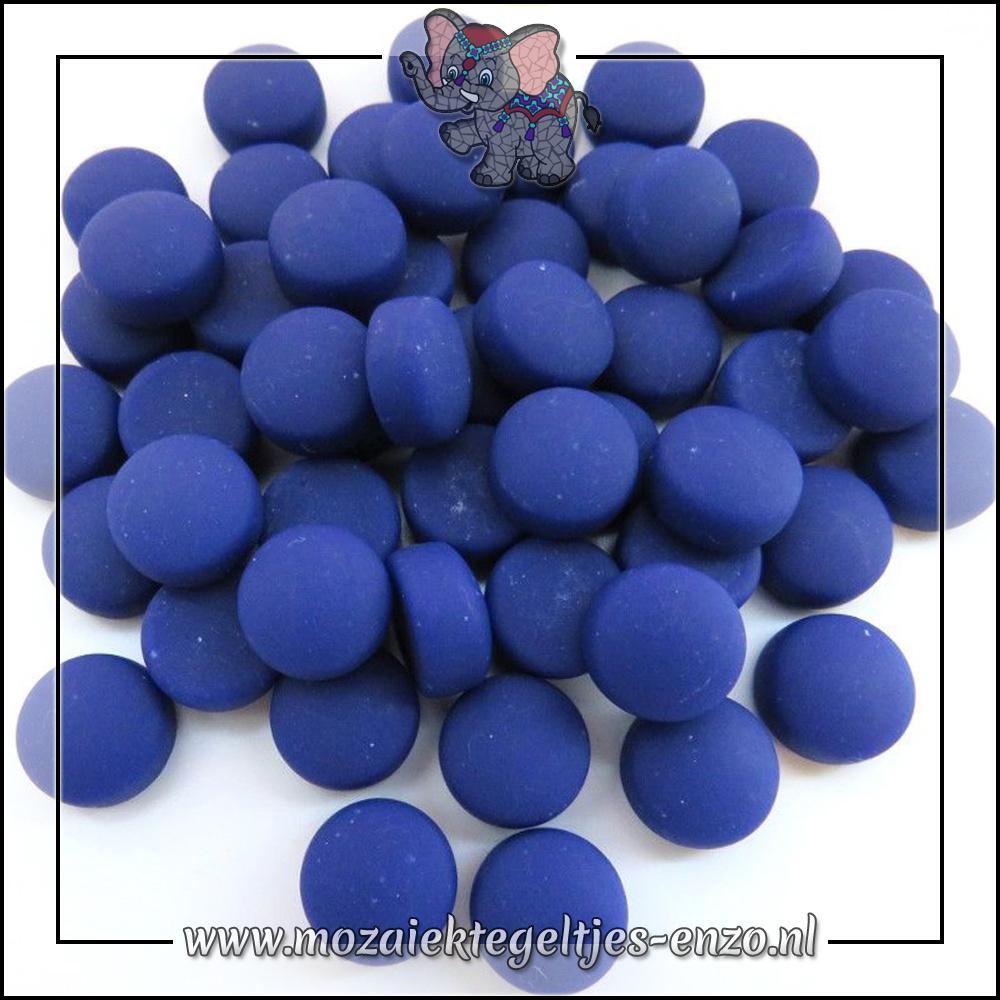 Glasdruppels Mat | 12mm | Enkele Kleuren | 50 gram |Cobalt