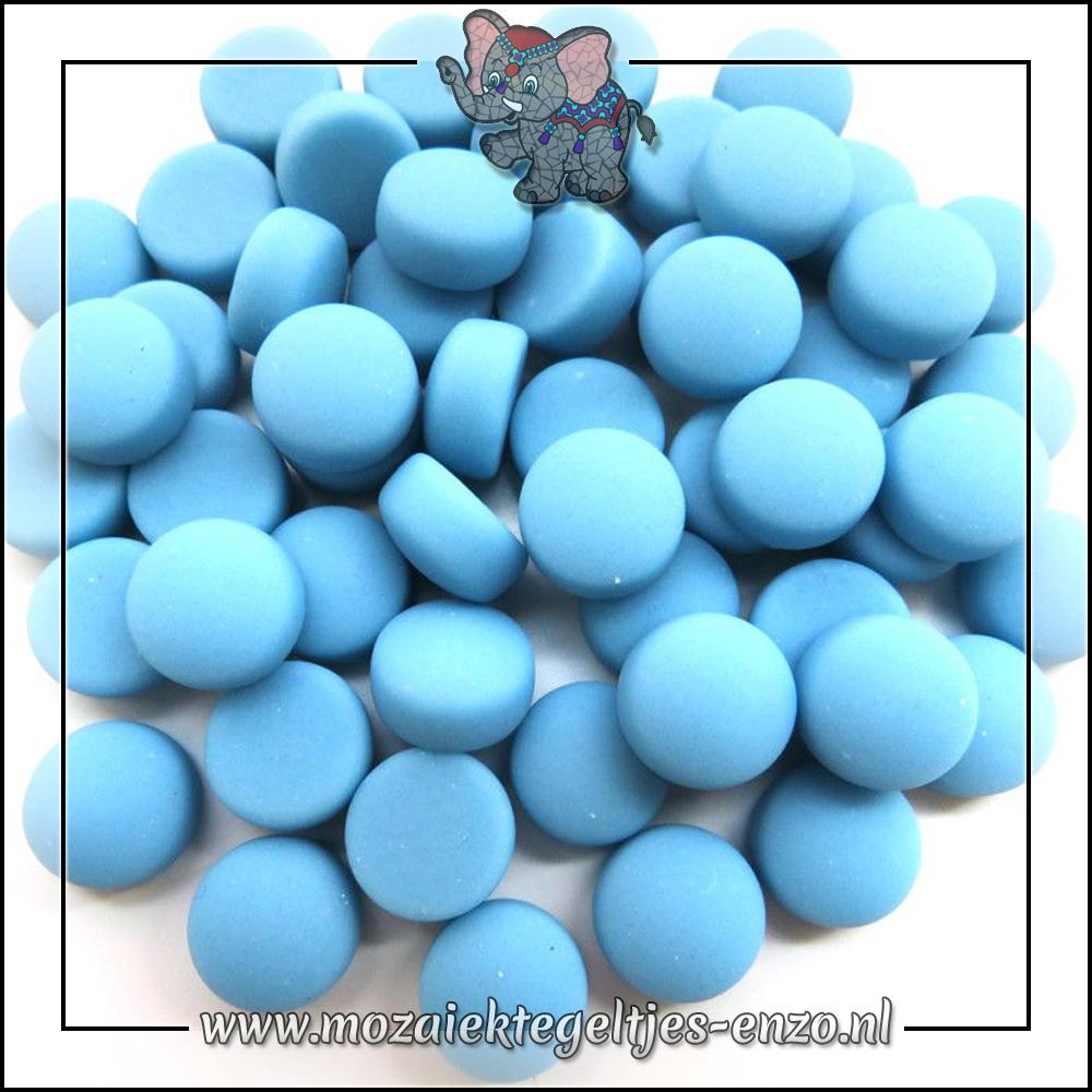Glasdruppels Mat | 12mm | Enkele Kleuren | 50 gram |Turquoise