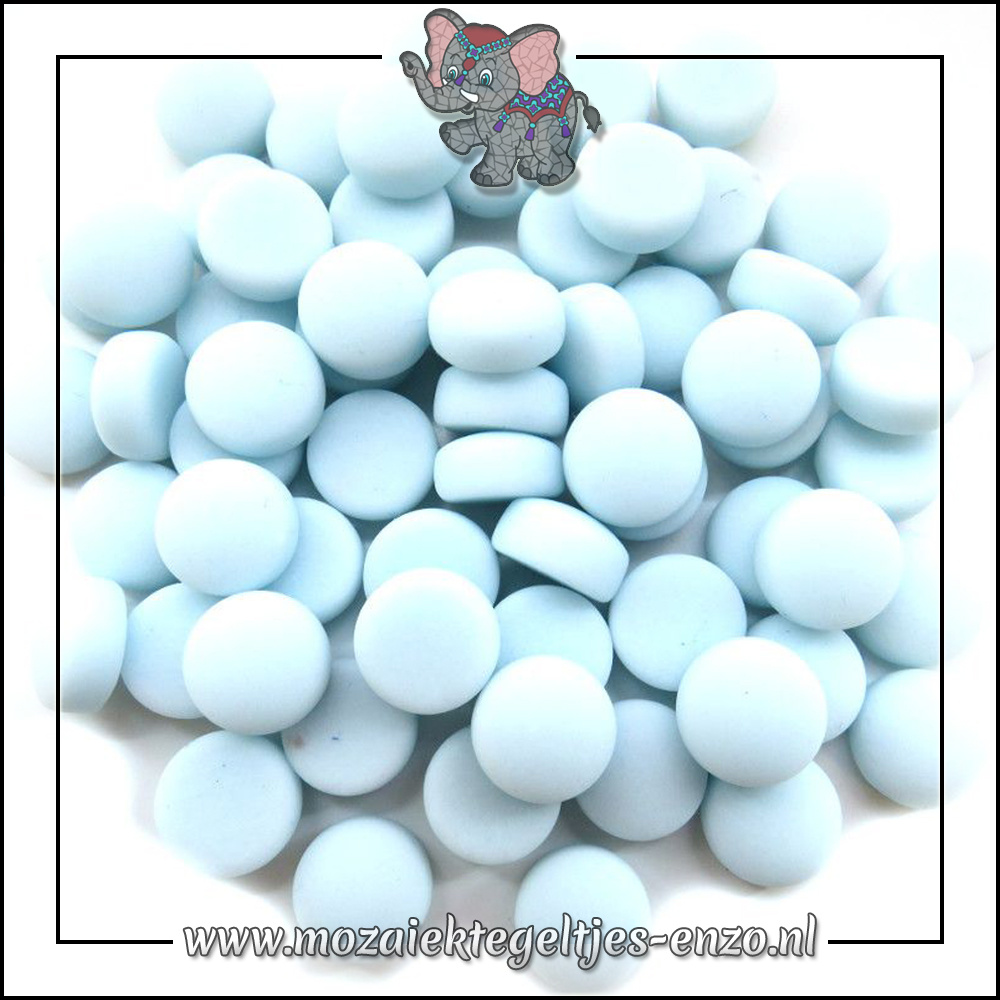 Glasdruppels Mat   12mm   Enkele Kleuren   50 gram  Aqua