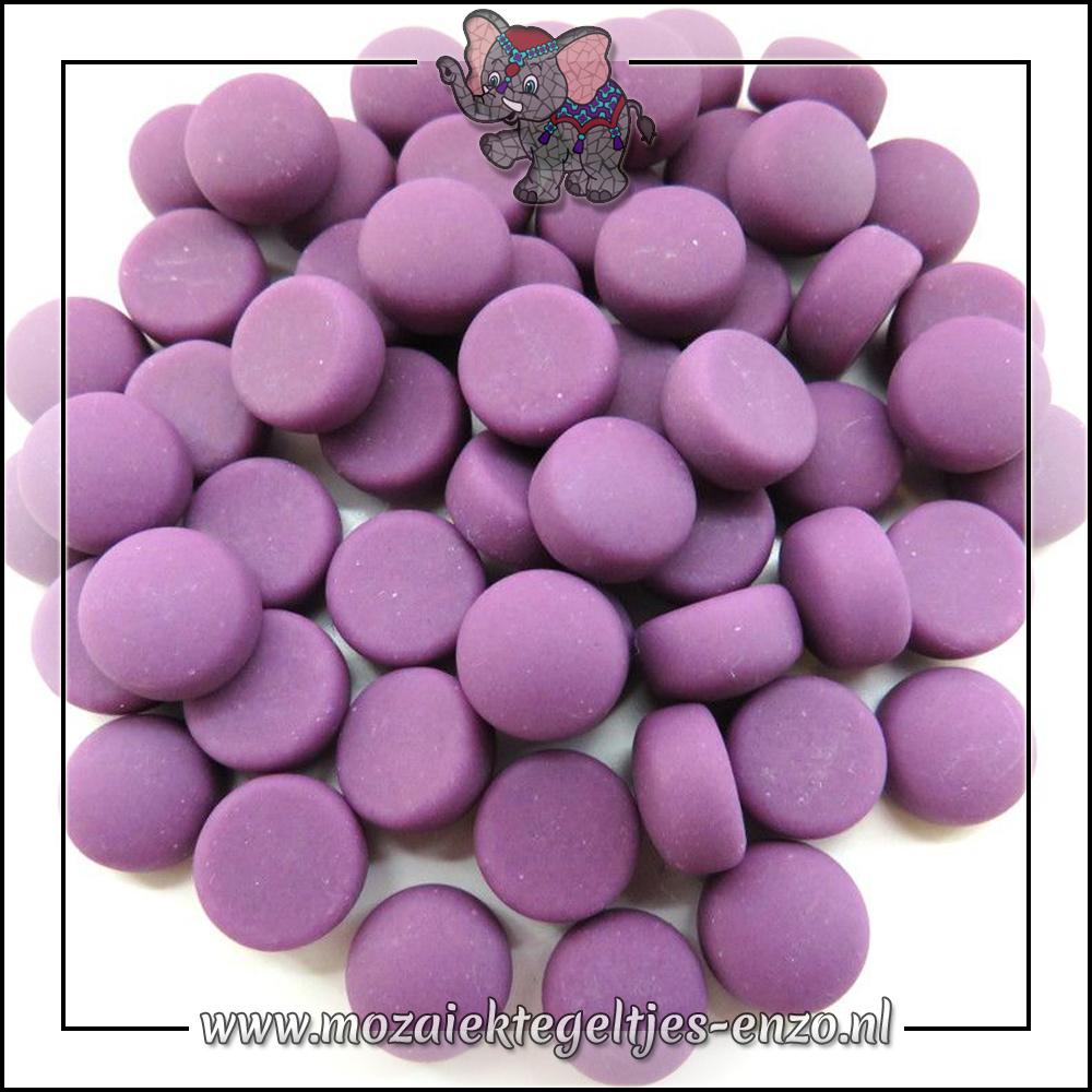 Glasdruppels Mat | 12mm | Enkele Kleuren | 50 gram |Purple