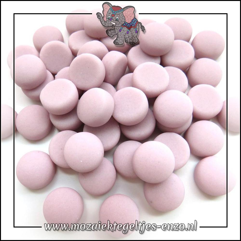 Glasdruppels Mat | 12mm | Enkele Kleuren | 50 gram |Pink