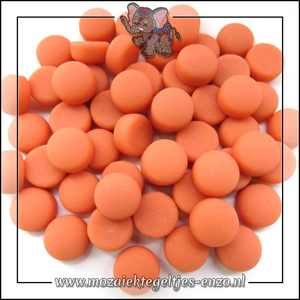 Glasdruppels Mat | 12mm | Enkele Kleuren | 50 gram |Peach