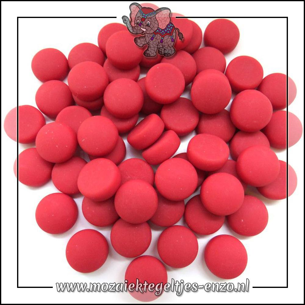 Glasdruppels Mat | 12mm | Enkele Kleuren | 50 gram |Red