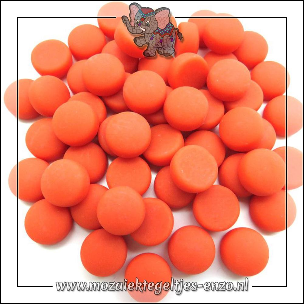 Glasdruppels Mat | 12mm | Enkele Kleuren | 50 gram |Mandarin