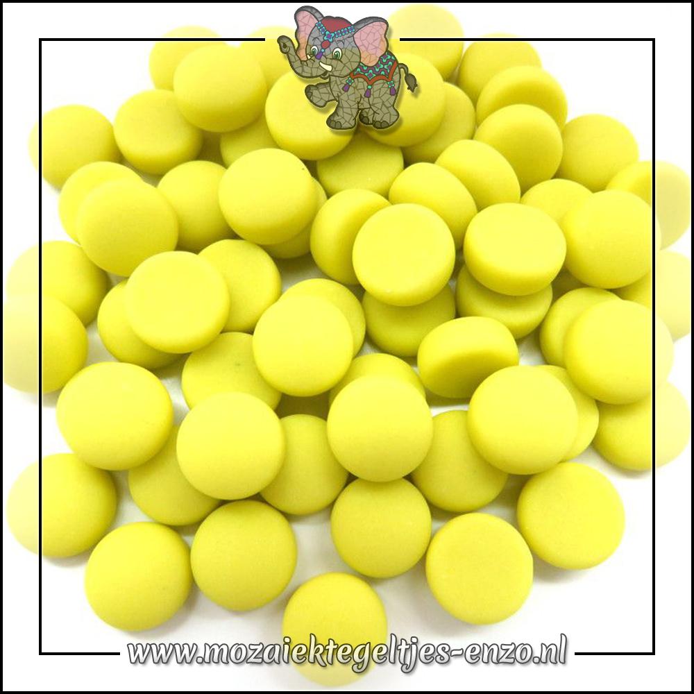 Glasdruppels Mat | 12mm | Enkele Kleuren | 50 gram |Yellow