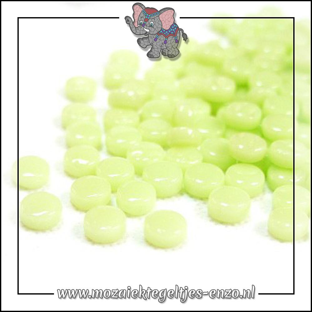 Glasdruppels Normaal   8mm   Enkele Kleuren   50 gram   Soft Green