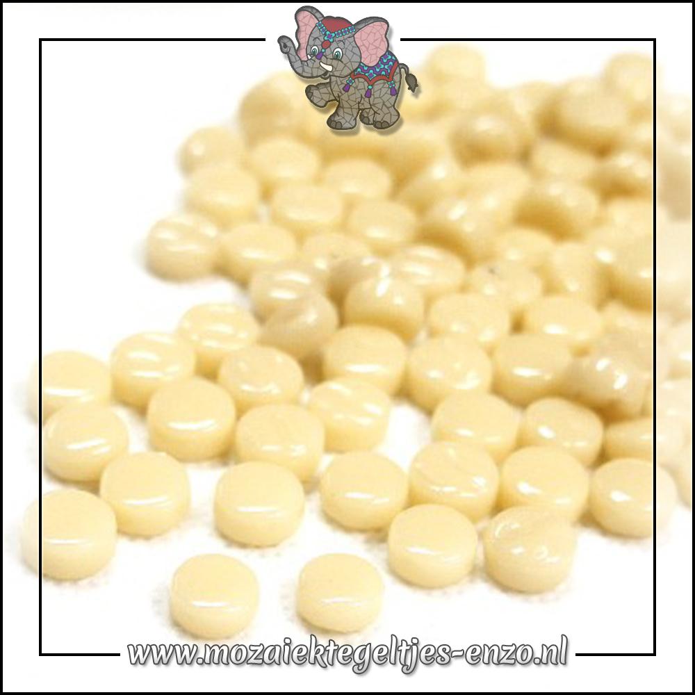 Glasdruppels Normaal | 8mm | Enkele Kleuren | 50 gram | Cream