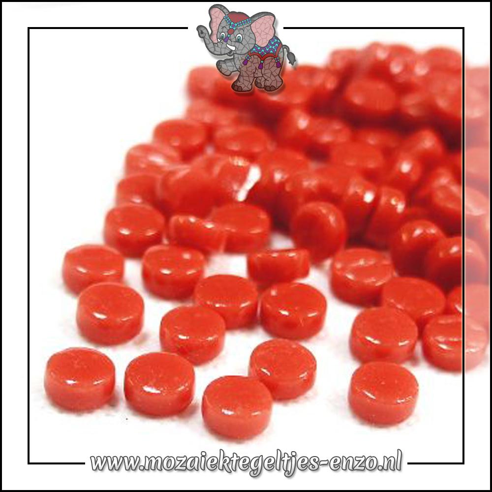 Glasdruppels Normaal | 8mm | Enkele Kleuren | 50 gram | Watermelon