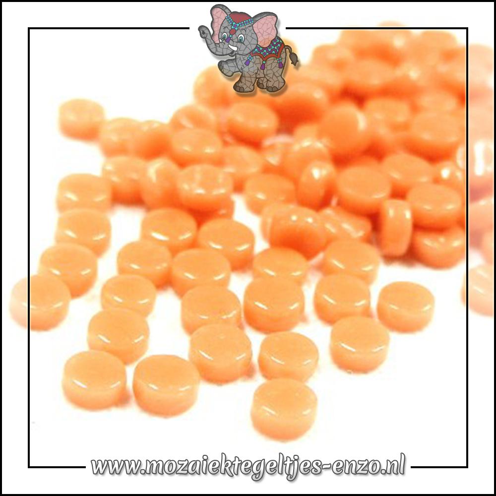 Glasdruppels Normaal | 8mm | Enkele Kleuren | 50 gram | Apricot