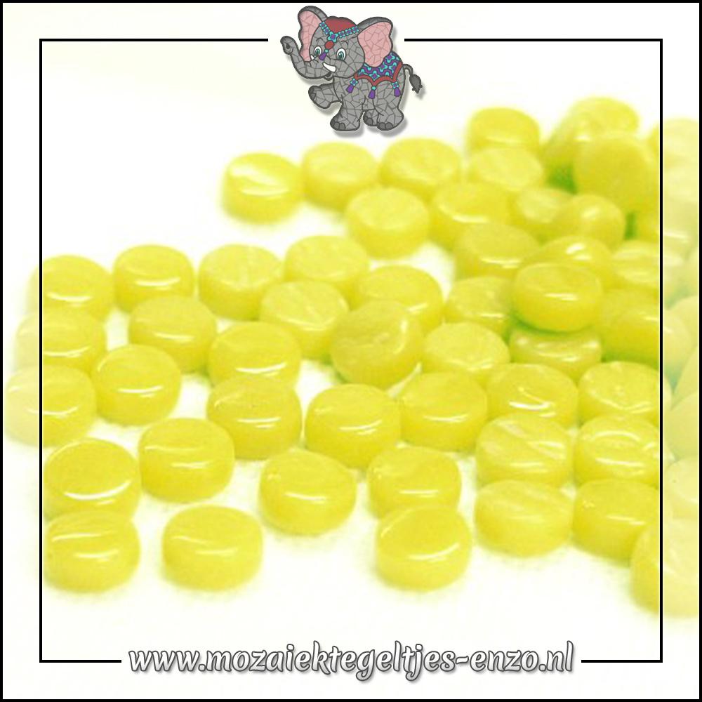 Glasdruppels Normaal | 8mm | Enkele Kleuren | 50 gram | Yellow Green
