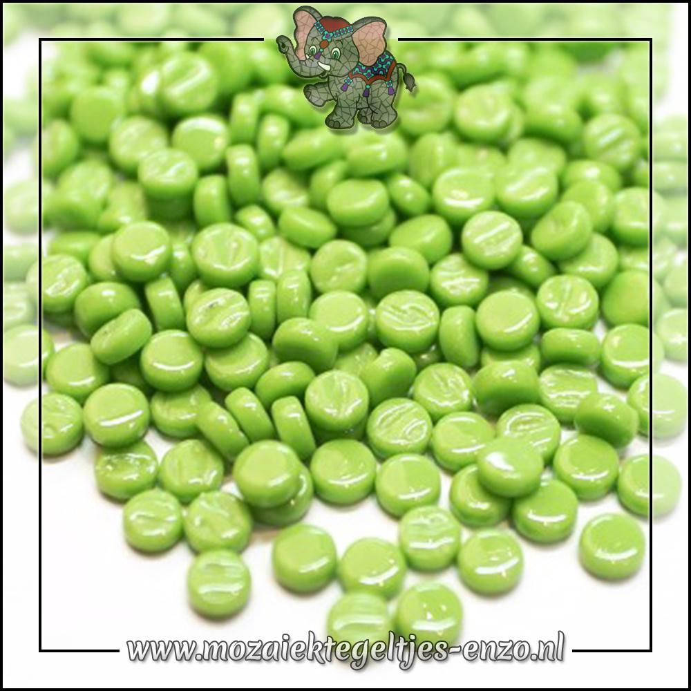 Glasdruppels Normaal | 8mm | Enkele Kleuren | 50 gram | New Green