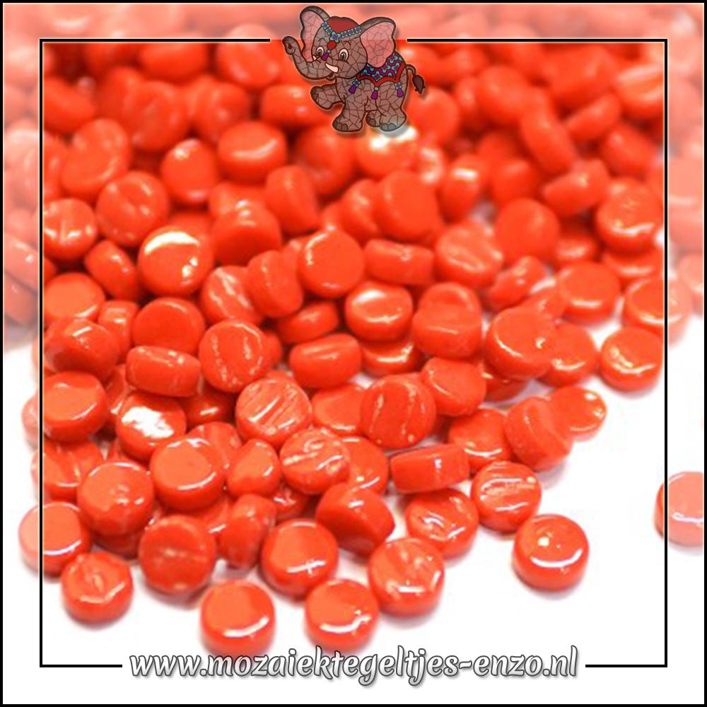 Glasdruppels Normaal   8mm   Enkele Kleuren   50 gram   Bright Red