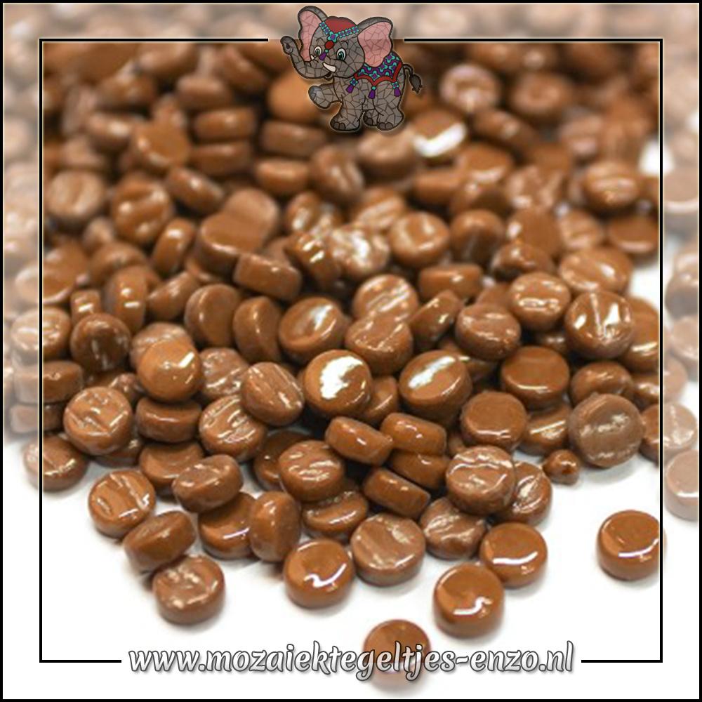 Glasdruppels Normaal | 8mm | Enkele Kleuren | 50 gram | Coffee