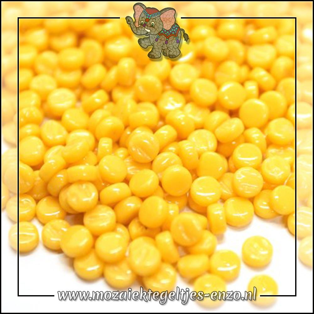 Glasdruppels Normaal | 8mm | Enkele Kleuren | 50 gram | Warm Yellow