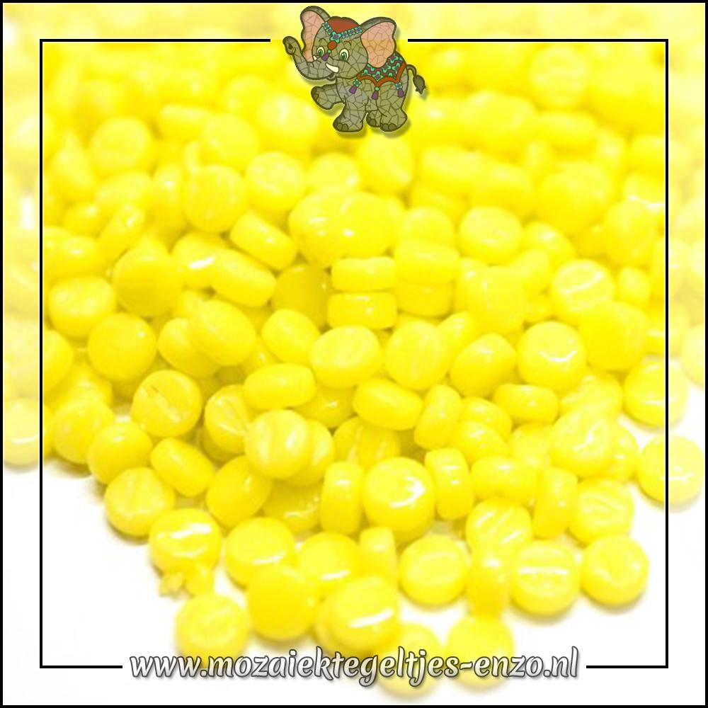 Glasdruppels Normaal   8mm   Enkele Kleuren   50 gram   Acid Yellow