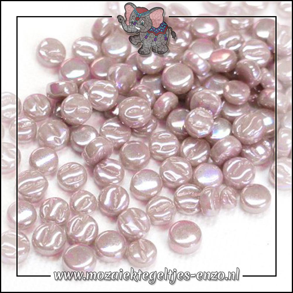 Glasdruppels Parelmoer   8mm   Enkele Kleuren   50 gram   Lilac