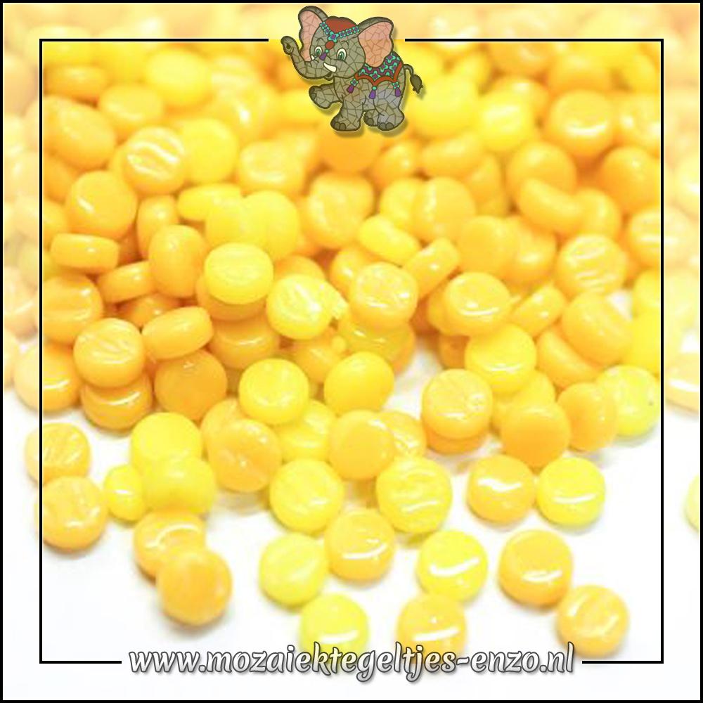 Glasdruppels Normaal | 8mm | Gemixte Kleuren | 50 gram | Lemon Bars