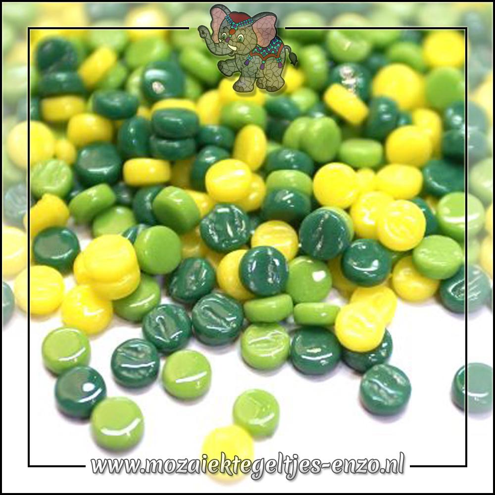 Glasdruppels Normaal | 8mm | Gemixte Kleuren | 50 gram | Apple Crisp