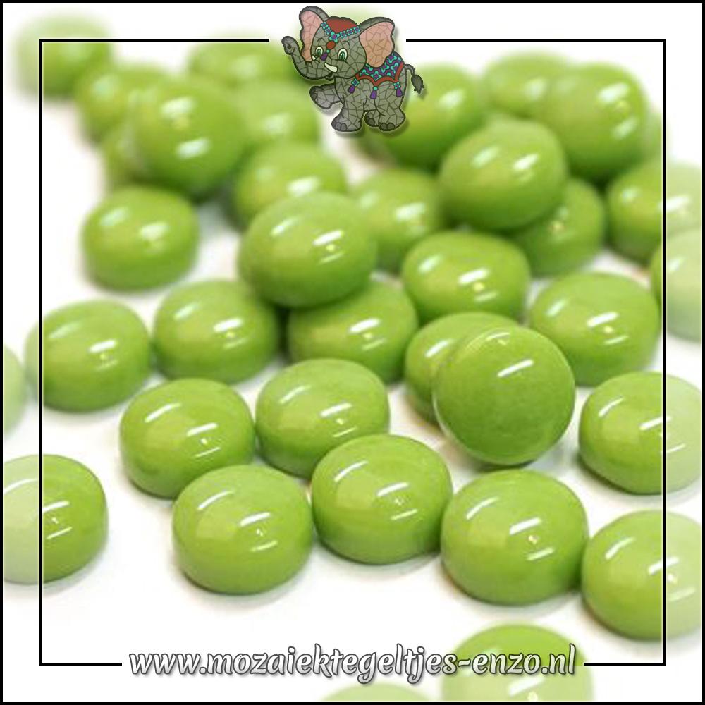 Glasdruppels Normaal | 12mm | Enkele Kleuren | 50 gram |New Green