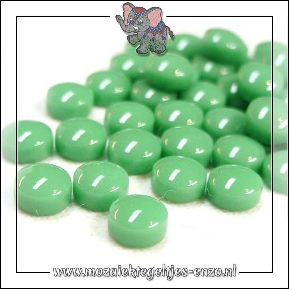 Glasdruppels Normaal   12mm   Enkele Kleuren   50 gram  Meadow Green