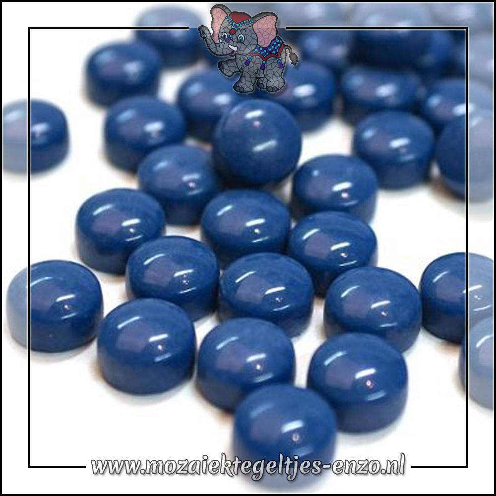 Glasdruppels Normaal | 12mm | Enkele Kleuren | 50 gram |Deep Lake Blue