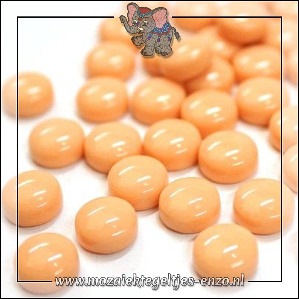 Glasdruppels Normaal   12mm   Enkele Kleuren   50 gram  Deep Blush