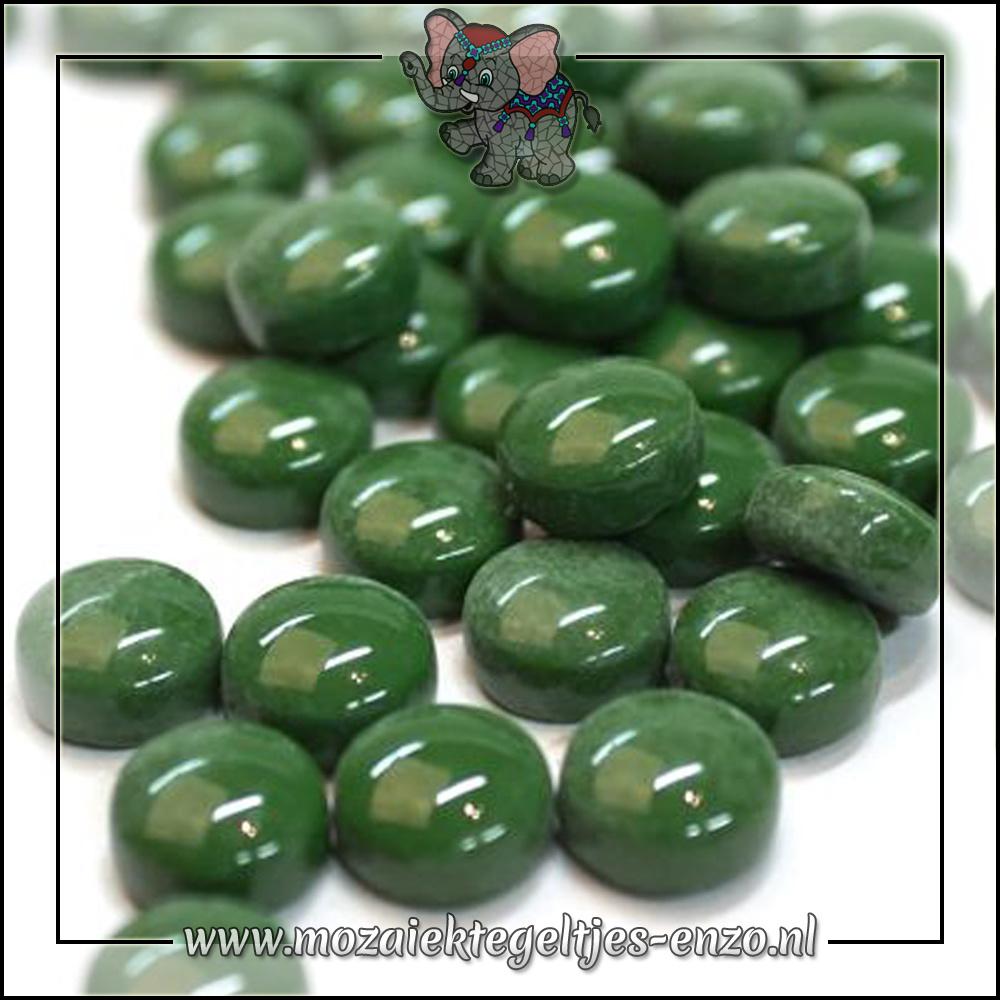 Glasdruppels Normaal | 12mm | Enkele Kleuren | 50 gram |Dark Green