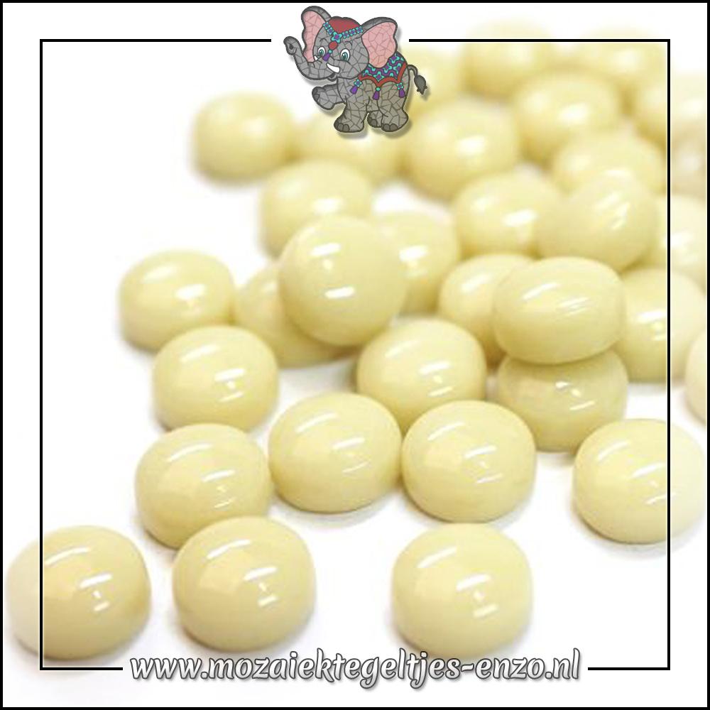 Glasdruppels Normaal | 12mm | Enkele Kleuren | 50 gram |Cream