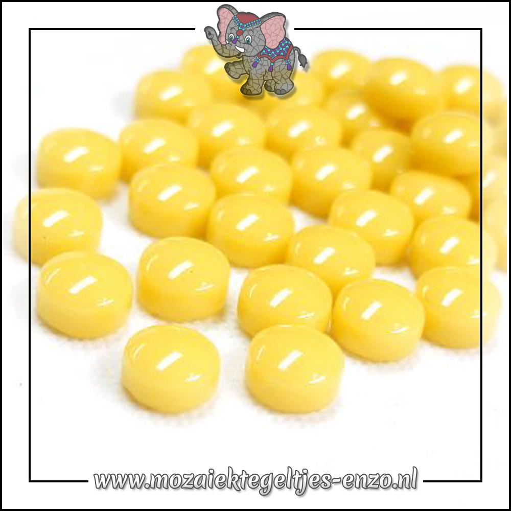Glasdruppels Normaal | 12mm | Enkele Kleuren | 50 gram |Corn Yellow
