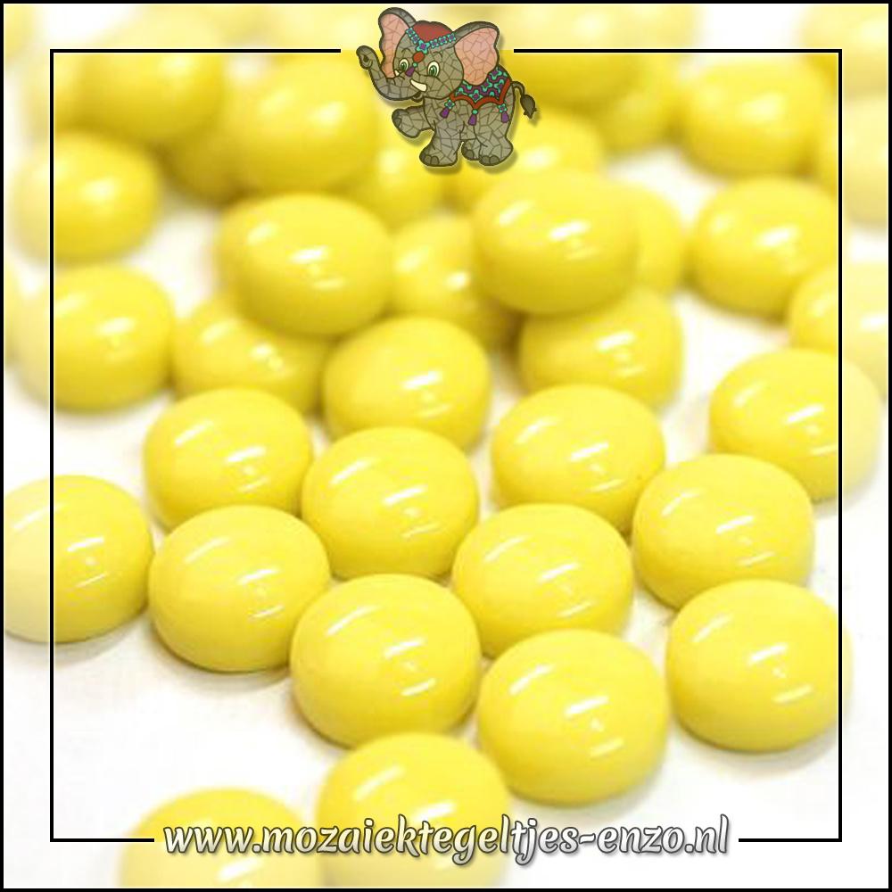 Glasdruppels Normaal | 12mm | Enkele Kleuren | 50 gram |Acid Yellow