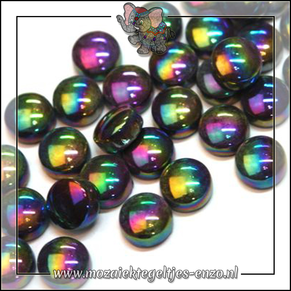 Glasdruppels Parelmoer | 12mm | Enkele Kleuren | 50 gram |Merbau
